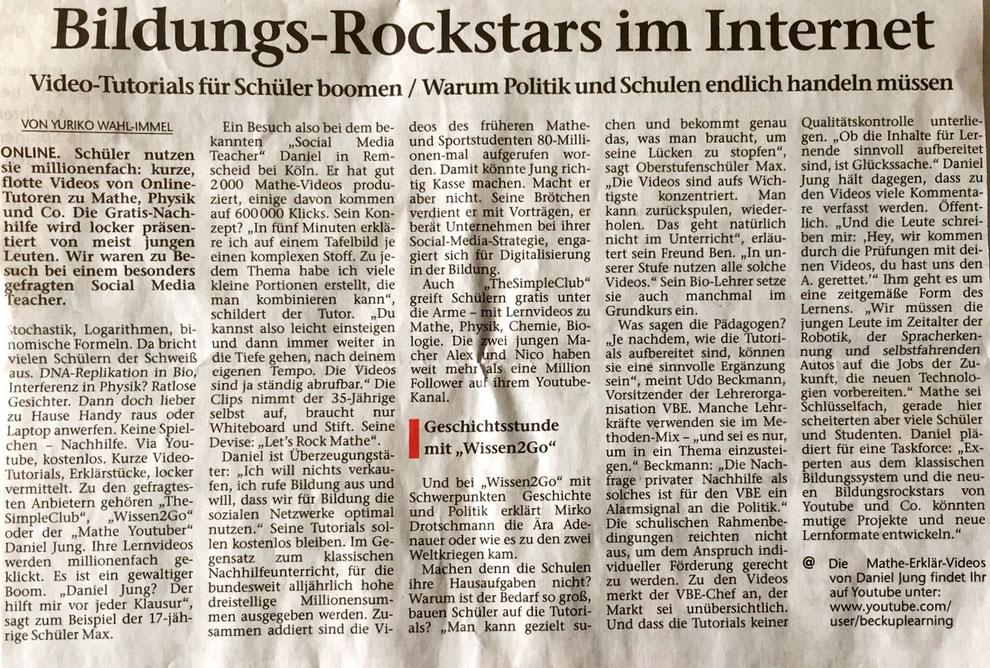 Hertener Allgemeine, Juni 2017