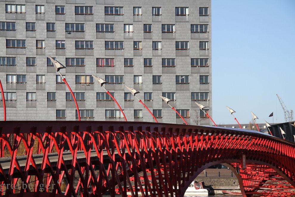 Das Gebäude The Whale beherbergt rund 200 sind Sozialwohnungen.