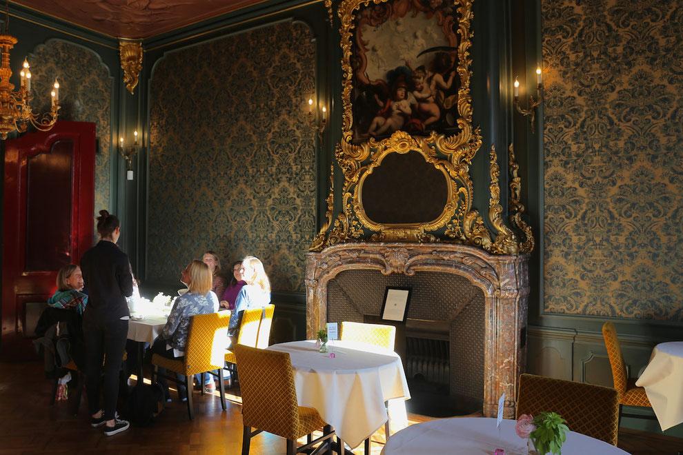 Café im Taschenmuseum Amsterdam, historischer Bereich
