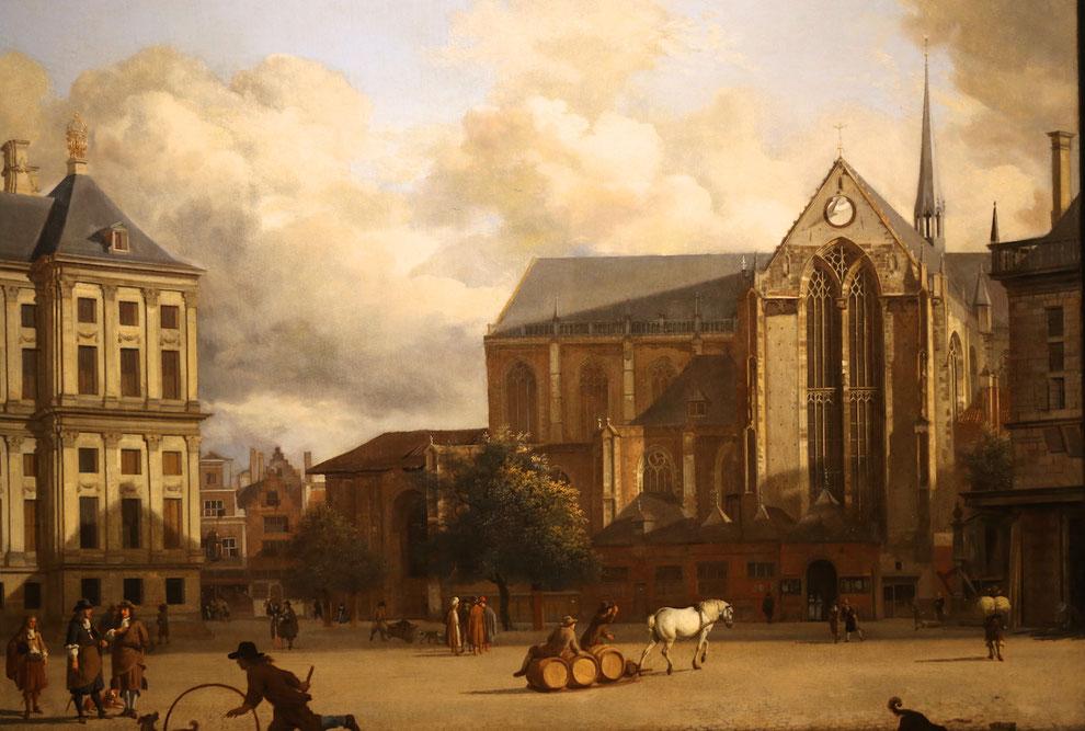 De Dam Jan van der Heyden, Amsterdam Museum