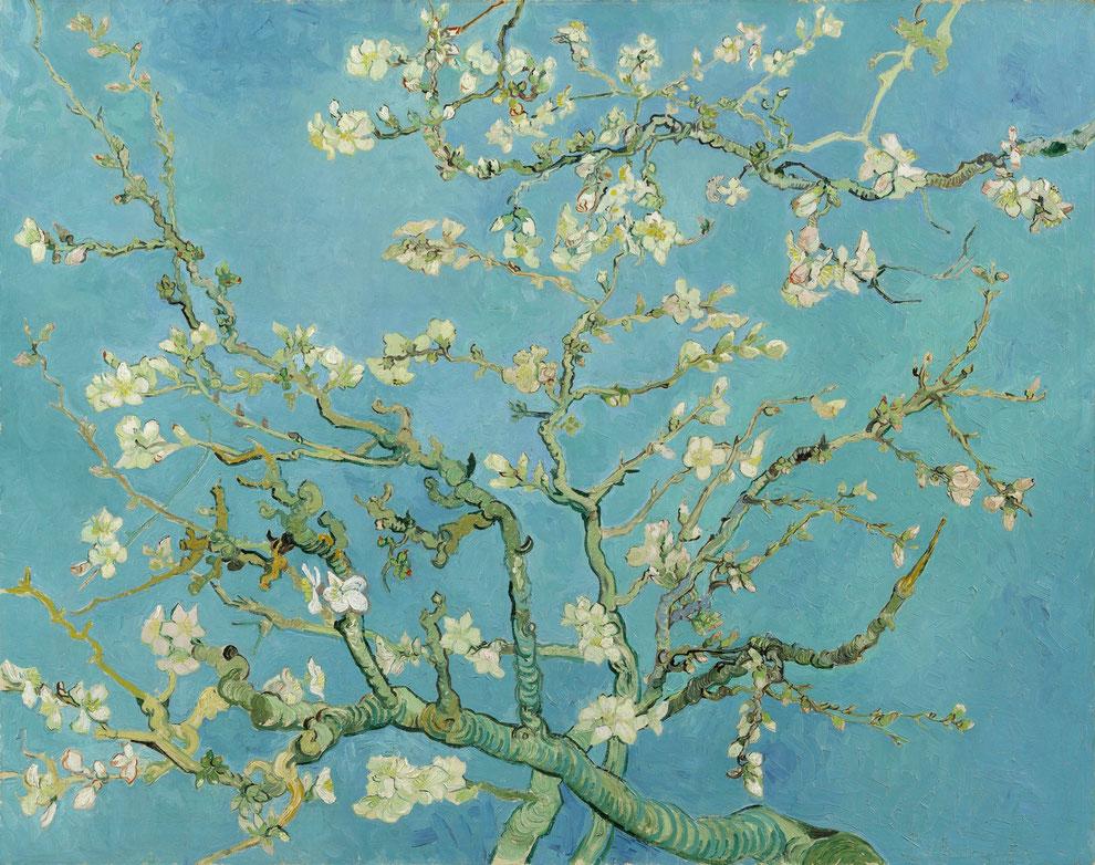 Vincent van Gogh, Mandelblüte, 1890. Van Gogh Museum