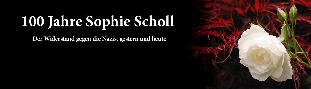 Sophie Scholl, Widerstand gegen Nazis