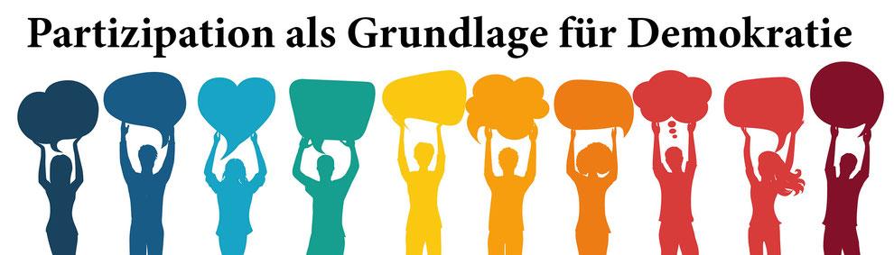 Partizipation als Grundlage für Demokratie, Mitbestimmung