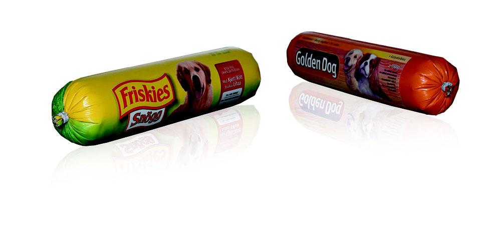 """Clipfolien: RATTPACK® - Hersteller von Clipfolien in AT und DE. Die flexible Konserve hält hohem Druck stand. """"Folienwurst"""" für Lebensmittel, Wurst, Käse & Cremes, auch Non-Food: Silikon, Fette, Klebstoff."""