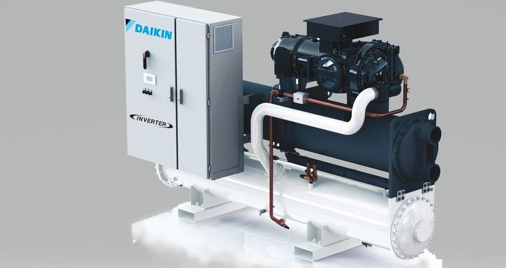Klimatechnik mit Kaltwasser