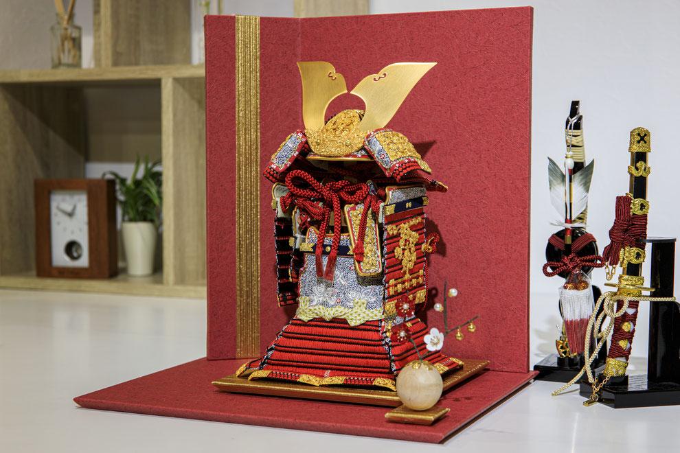 徳川家康の鎧飾り