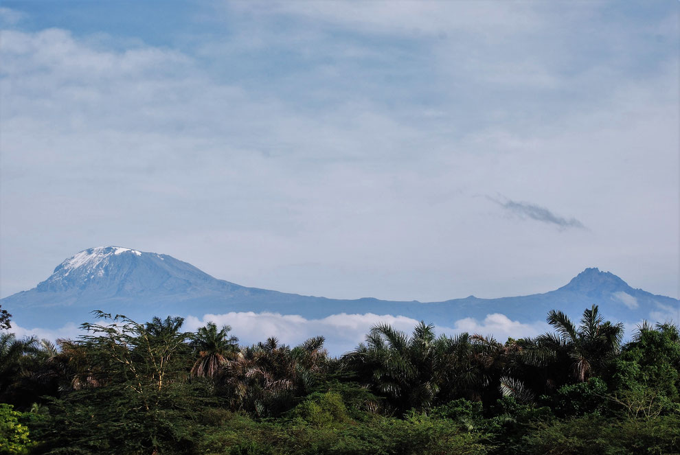Kilimanjaro Gipfel Kibo und Mawenzi