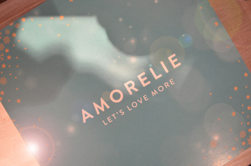 Die Weihnachtsbox 2015 von Amorelie - passend zum Fest