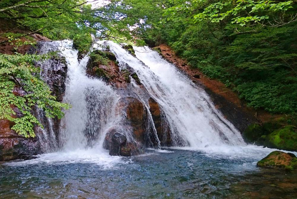 名水の滝 / 湯布院 大分川 水系 阿蘇野川水源