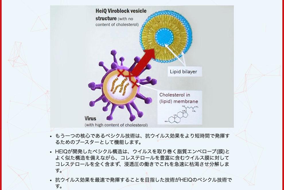 ハイキュ ヴィロブロック ウィルス撃滅のメカニズムと実証結果