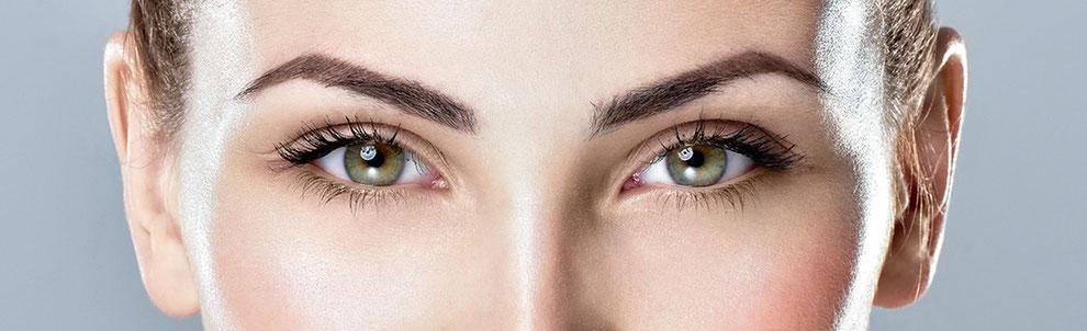 Neyes Brows Augenbrauen und Wimpern Beauty-Foto
