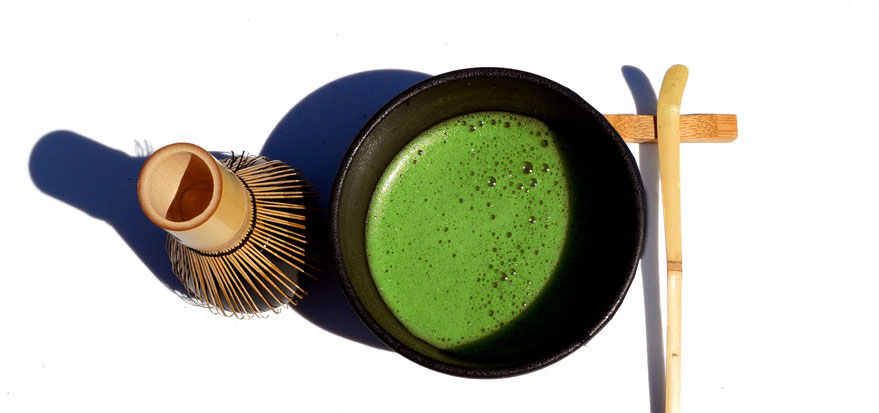 Bild: Matcha-Tee Set Uji Japan