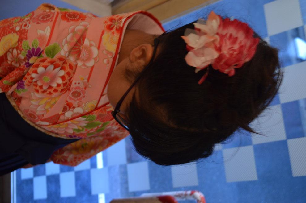 福岡平尾美容室 卒業式セット