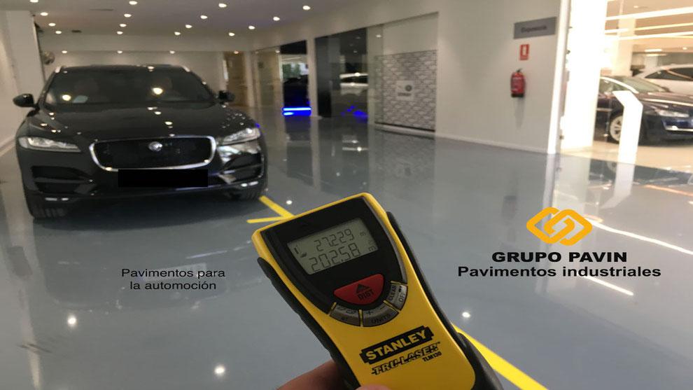 GRUPO PAVIN - Pavimentos industriales y decorativos - Sistema Epoxi Pintura