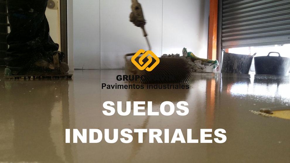 Suelos industriales para pavimentos de hormigón aplicados por Grupo Pavin