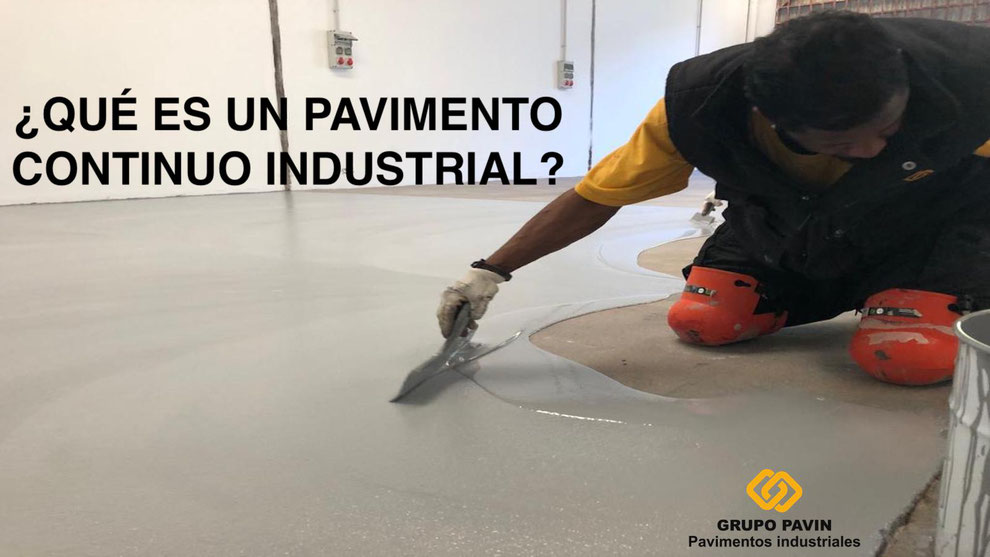 Pavimento continuo industrial