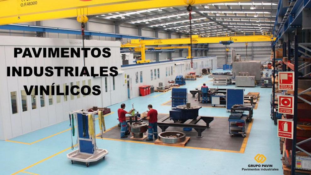 Suelos y pavimentos industriales vinilicos Barcelona