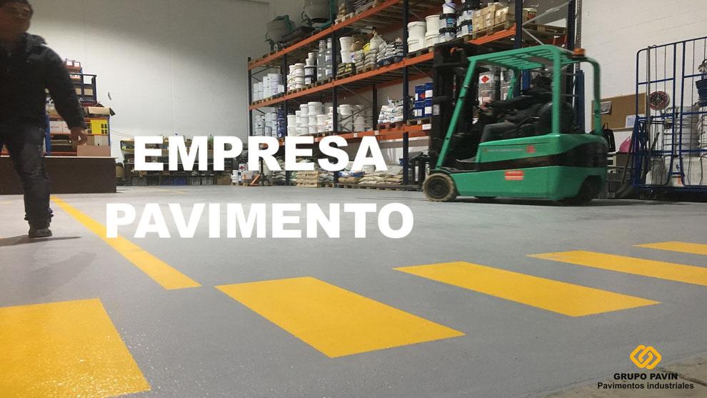 Empresa pavimento