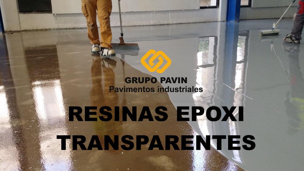 Resinas epoxi transparentes aplicadas por Grupo Pavin