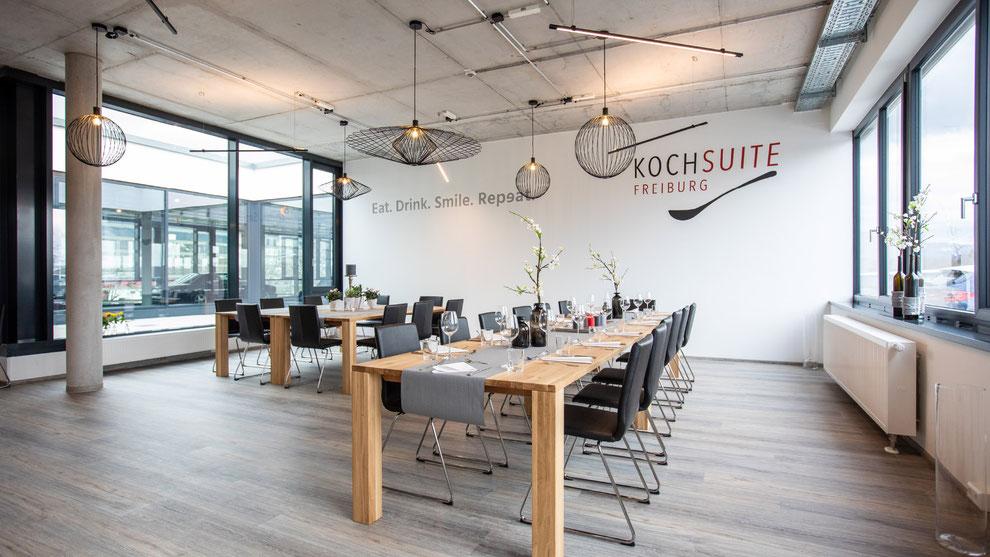 KochSuite Freiburg Location für Kochkurse Tagungen und Events