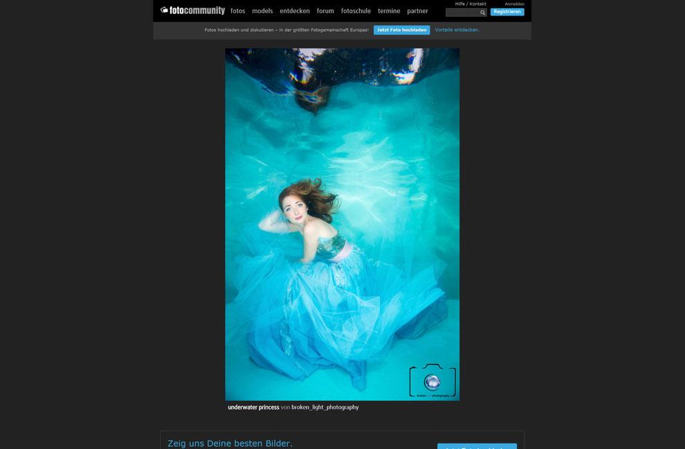 Bild: Fotocommunity Unterwasser Foto