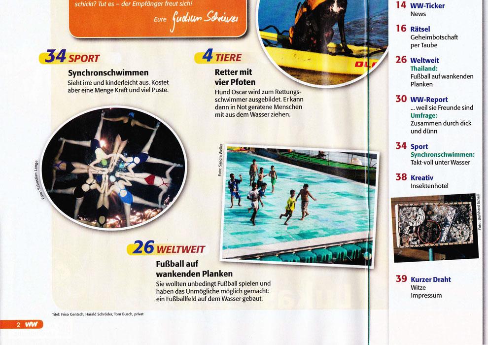 Bild: Wassersport Synchronschwimmen in Berlin Unterwasserfotograf
