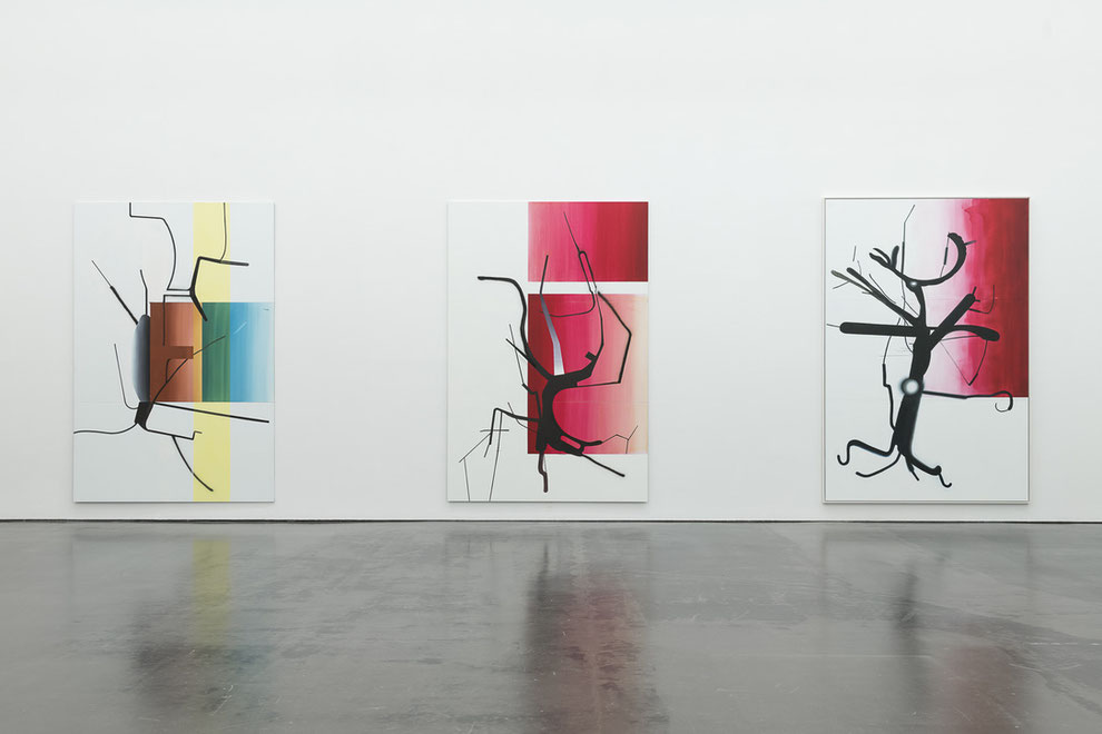 Albert Oehlen Kunsthalle Düsseldorf, 2019 © VG Bild-Kunst, Bonn 2019 Foto: Katja Illner