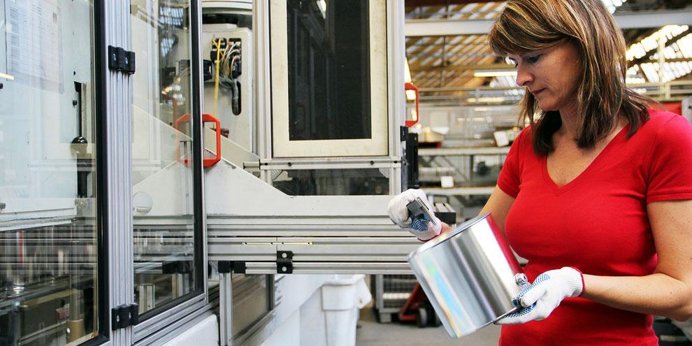 Qualität Metallverpackungen HUBER Packaging