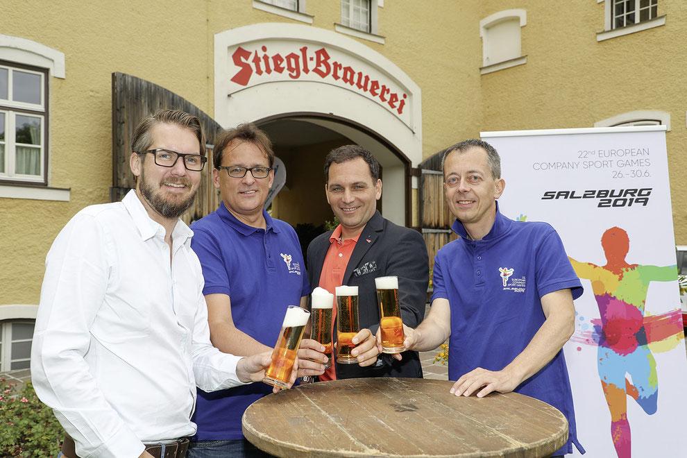 ECSG Salzburg 2019 Partner: Stiegl Brauerei