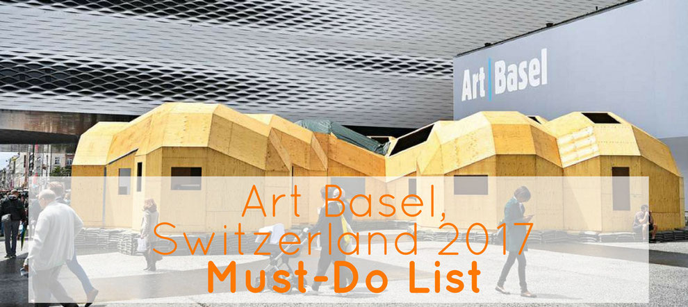 Art Basel 2017 Messe Basel