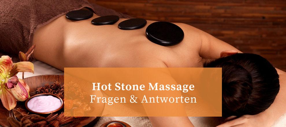 Hot Stone Massage: Fragen und Antworten