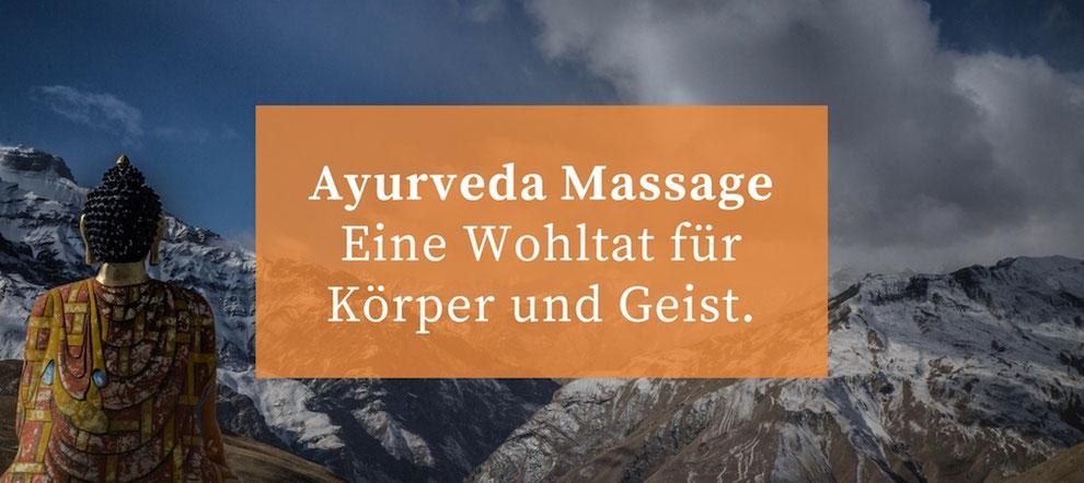 4 Ayurveda Massagen die Sie erleben sollten