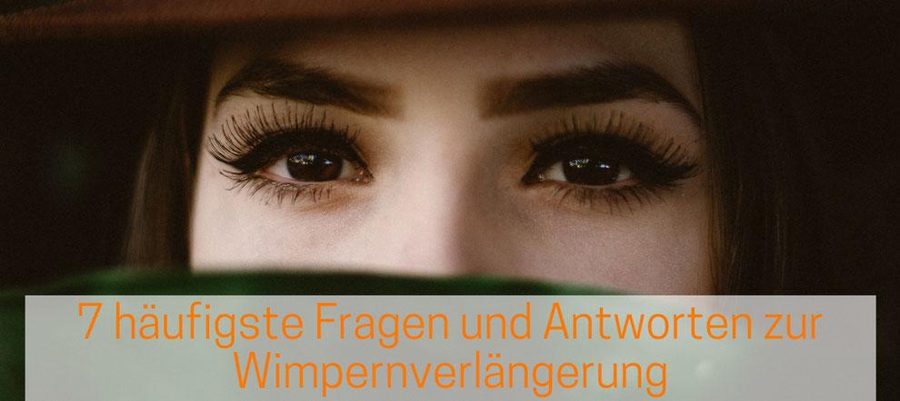 Wimpernverlängerung 7 häufigste Fragen - Wimpernextensions Basel