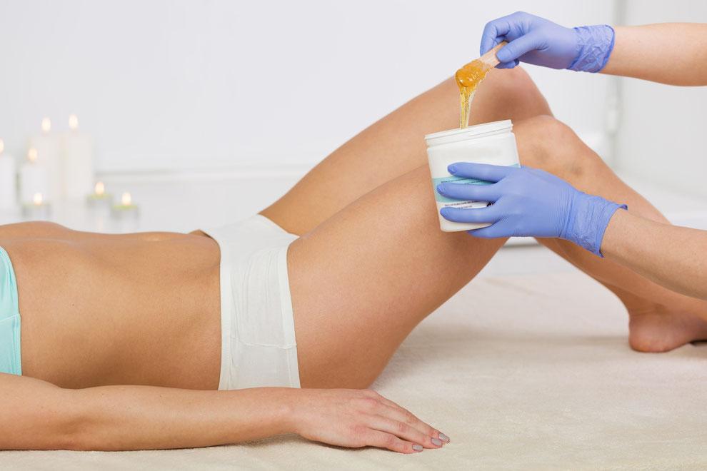 Haarentfernung, Mann, Frau, Kosmetikinstitut, Waxing, Sugaring, Intimwaxing Basel