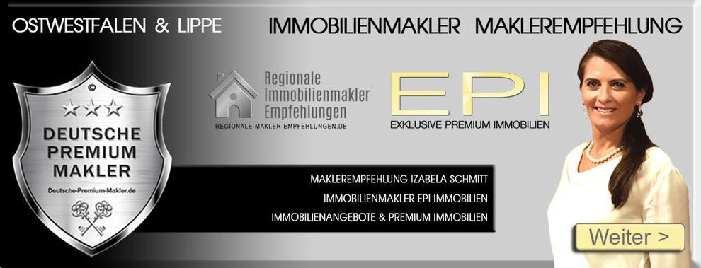 IMMOBILIENMAKLER VLOTHO  MAKLEREMPFEHLUNG EPI IMMOBILIEN OWL OSTWESTFALEN LIPPE MAKLER MAKLERBÜRO MAKLERAGENTUR MAKLERBEWERTUNGEN MAKLERCHECK