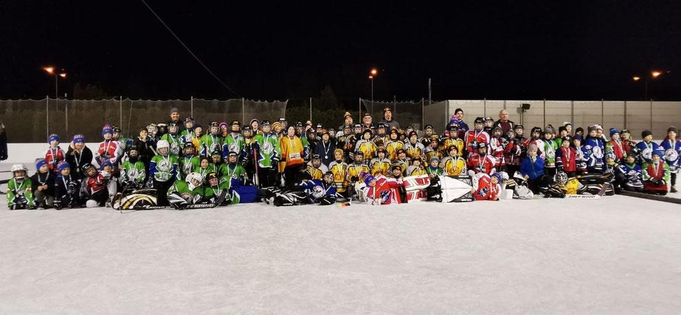 Grasshoppers Wolkersdorf Eishockey Turnier Eislaufschule
