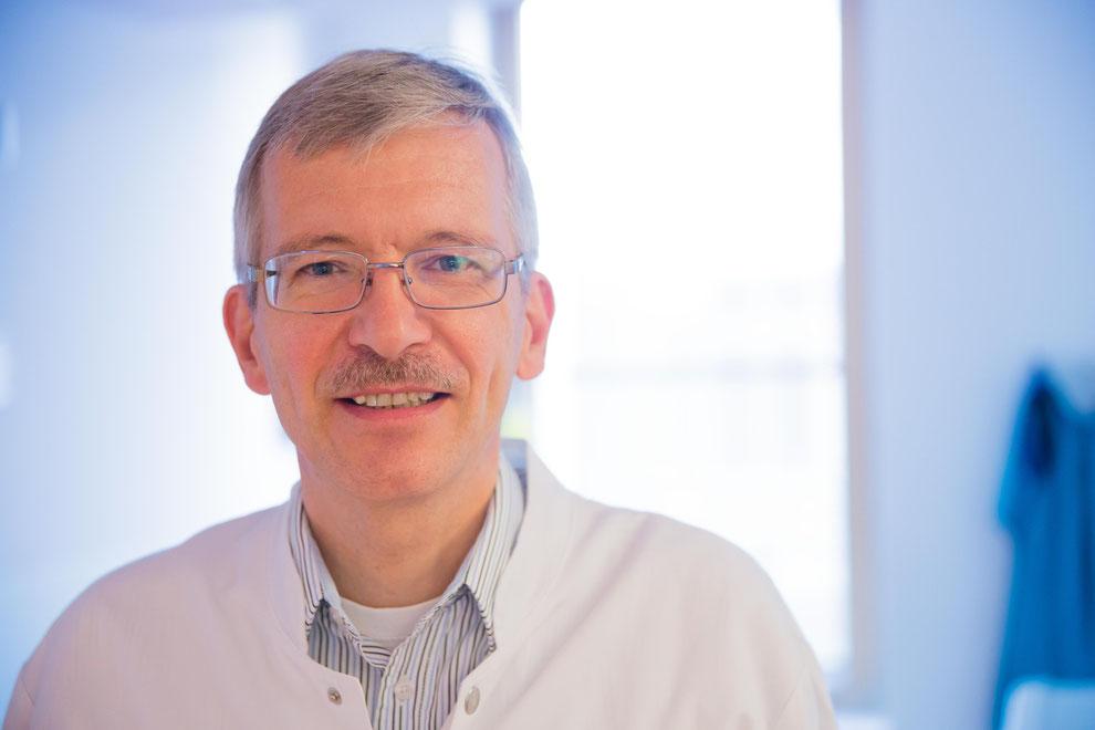 Prof. Dr. Dominique Singer, Leiter der Sektion Neoantologie und Pädiatrische Intensivmedizin