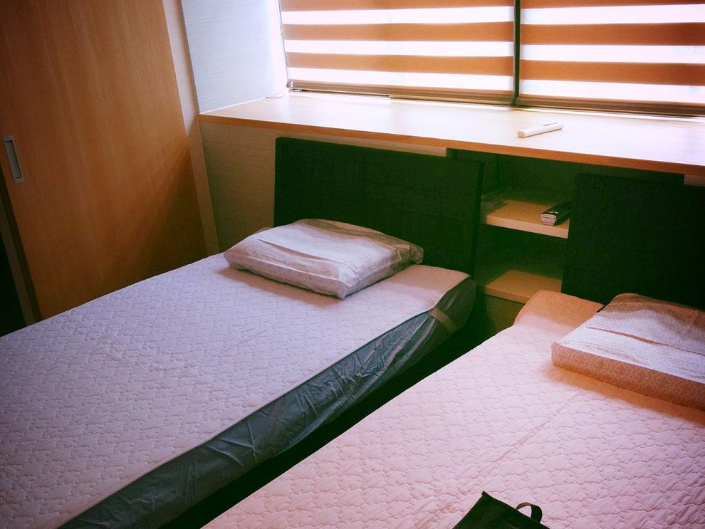 また一つの寝室をプロデュースできました。