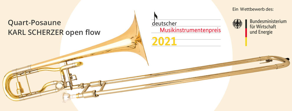 Bild von Quart-Posaune Karl Scherzer open flow