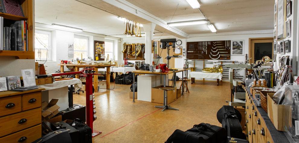 Bild der Werkstatt Karl Scherzer