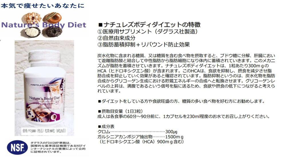 本気で痩せたいあなたのサプリメント、ナチュレズボディダイエット、大阪の人気パーソナルトレーニングジム【ファーストクラストレーナーズ】ボディメイク、ダイエット、筋トレ、スタイルアップ
