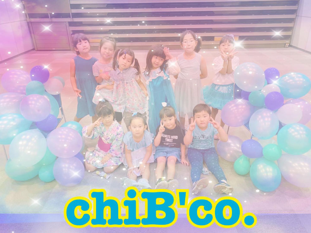 """ブルーパティ―""""chiB'co."""""""