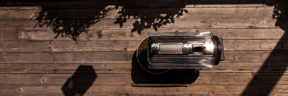 Bild Kaffee Röster für zuhause Hottop