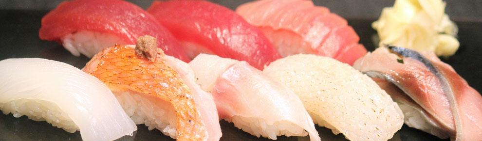 千葉勝浦の新鮮な地魚をお召し上がりください。 勝浦漁港の江戸前寿司店 鮨成田家