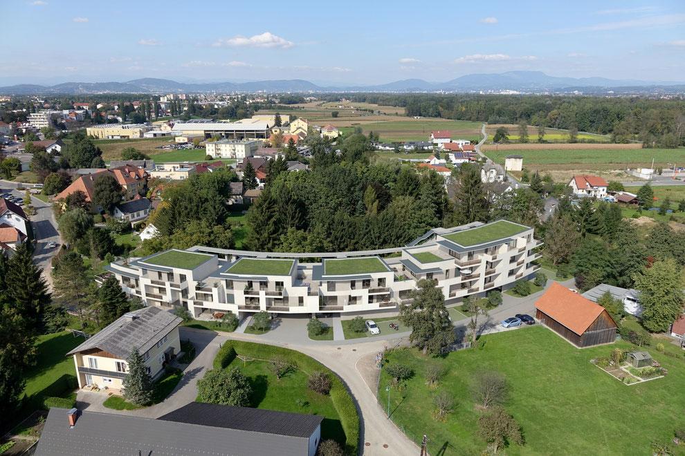 Renderings und ein Video für ein Bauvorhaben in Kalsdorf by KS-Group