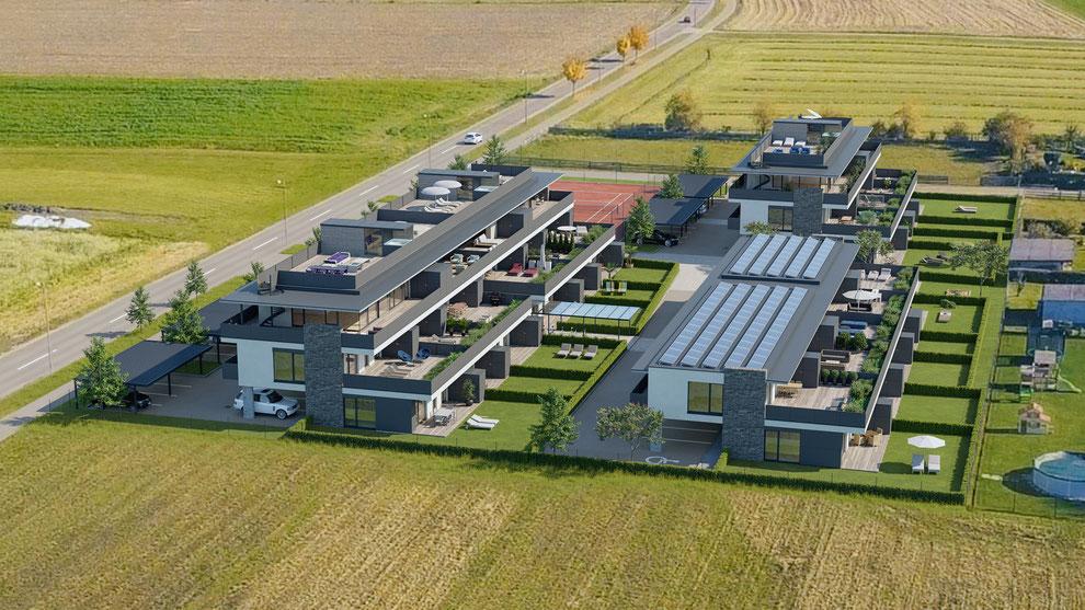 Wohnbau Fohndorf - Wellness und Wohnen