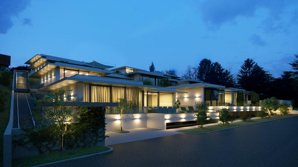 Visualisierung von Luxuswohnungen Graz Petersbergenstrasse