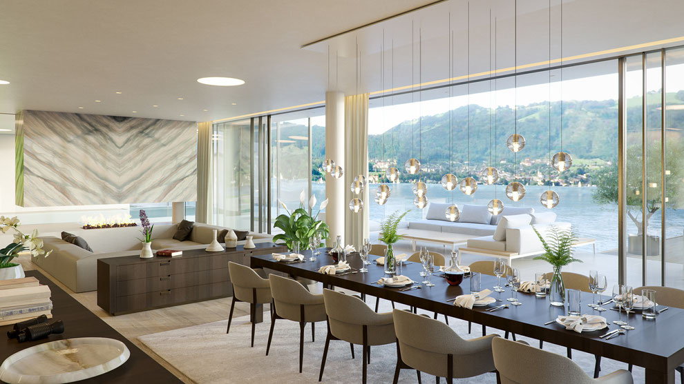 Rendering Haus am Traunsee