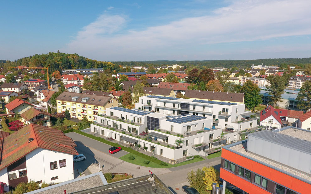 Stadtterrassen Traunstein