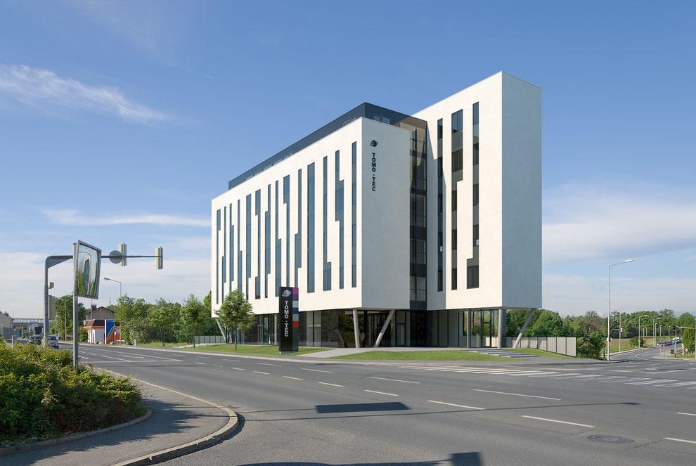 Bürogebäude Tomo-Tec - archviz exterior